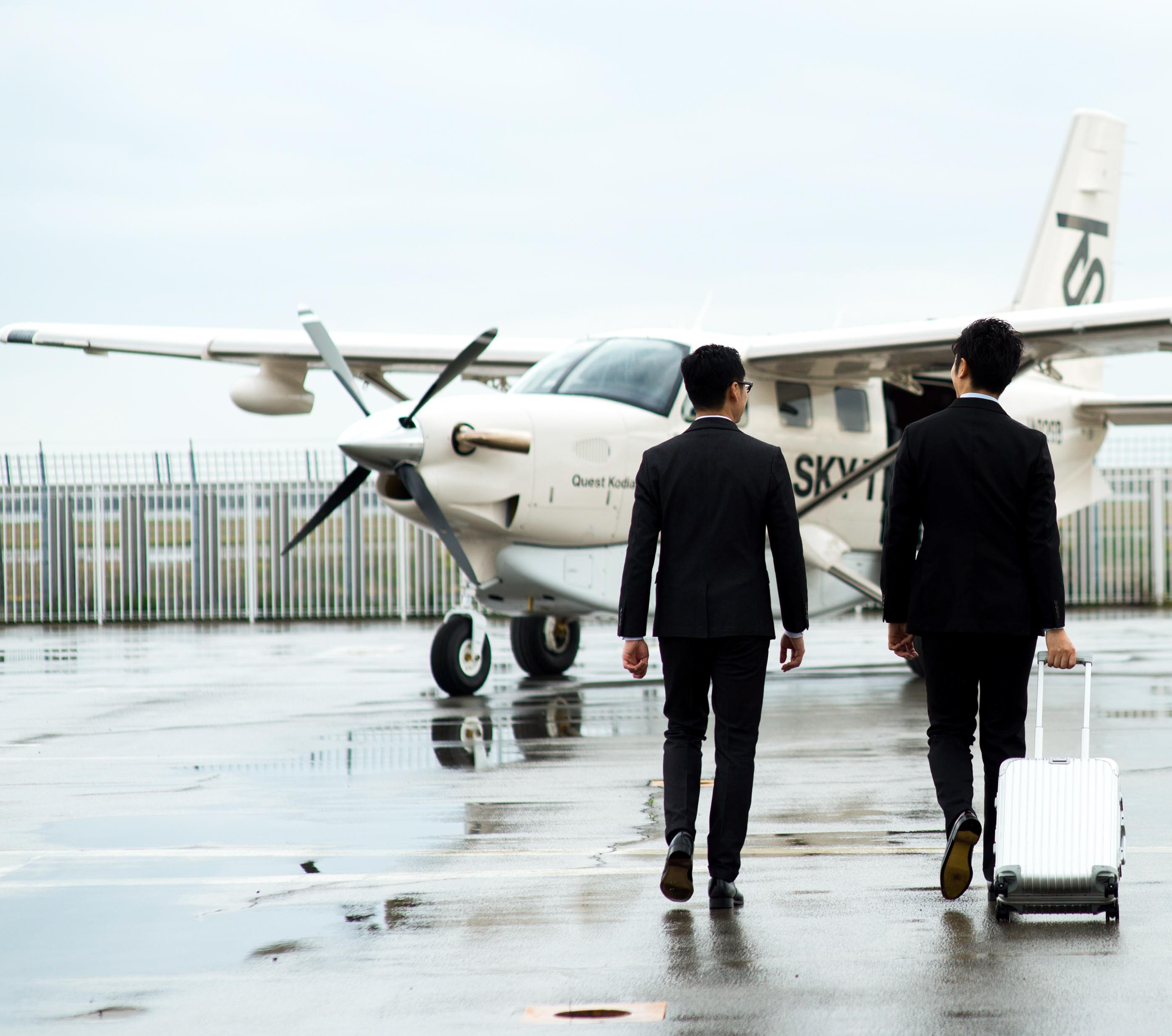 ビジネスジェット機チャーターのメリット