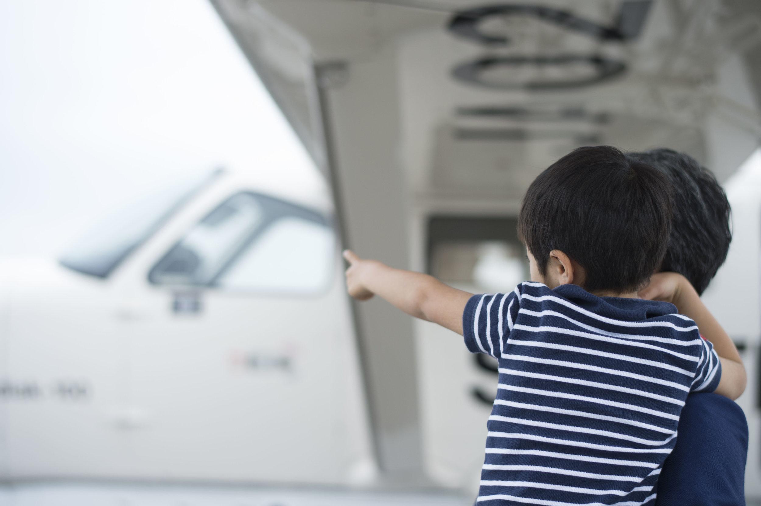 学んで!作って!体験!SKY TREK 夏休み特別企画!航空教室を実施!